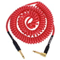 456. Kirlin Premium Coil Cable 6m Red