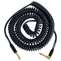 326. Kirlin Premium Coil Cable 9m Black
