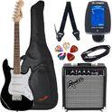 Fender Squier Mini Strat V2 BK Set SQ