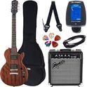 47. Epiphone Les Paul Special VE WLV Set SQ