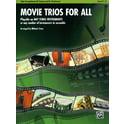193. Alfred Music Publishing Movie Trios For All Alto Sax
