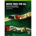 50. Alfred Music Publishing Movie Trios For All Clarinet