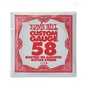 93. Ernie Ball 058 Single String Wound Set