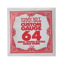 60. Ernie Ball 064 Single String Wound Set