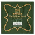 "95. Optima Goldbrokat 24K Gold e"" 0.25 BE"