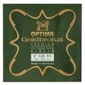 "54. Optima Goldbrokat 24K Gold e"" 0.26 BE"