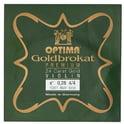 "87. Optima Goldbrokat 24K Gold e"" 0.28 BE"