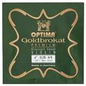"117. Optima Goldbrokat Brassed e"" 0.28 BE"