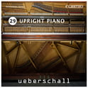 159. Ueberschall Upright Piano