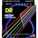 56. DR Strings DR A Neon MCA-12