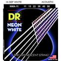 62. DR Strings DR Neon Hi-Def White 011-050