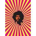 My World Jimi Hendrix Greeting Card