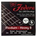 Fodera 6-String Set Ni Med Heavy B TB