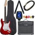 158. Thomann Guitar Set G2 CA Red