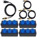 Stairville PCD-3 TR1 Distributor Bundle