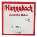 266. Hannabach Mandolin String E 012 (2pcs)