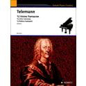24. Schott Telemann 12 kleine Fantasien