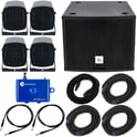 the box pro Lounge Set 2 Black