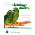 Universal Edition Lieblingsduette Recorder SA/ST