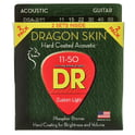 53. DR Strings Dragon Skin DSA 11-50 2-Pack