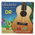 29. DR Strings Multi-Color UMCSC Ukulele