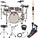 Gewa G9 E-Drum Set Pro L5 W. Bundle