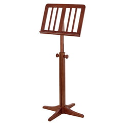 K&M 116/1 Wooden MusicStand Walnut