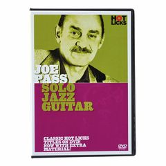 Hot Licks Joe Pass Solo Jazz Guitar DVD