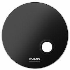 "Evans 24"" E-Mad Reso Bass Drum BK"