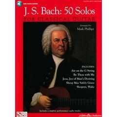 Hal Leonard Bach 50 Solos Classical Guitar