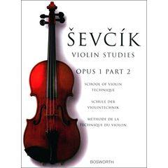 Bosworth Sevcik Violin Studies op.1 /2