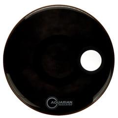 """Aquarian 22"""" Regulator Black Bass Drum"""
