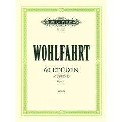 C.F. Peters Wohlfahrt 60 Etüden