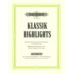 Edition Peters Klassik-Highlights Vol.1