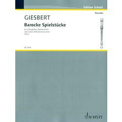 Schott Barocke Spielstücke Vol.2