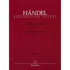 Bärenreiter Händel Elf Sonaten für Flöte