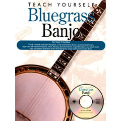 Oak Publications Teach Yourself Bluegrass Banjo