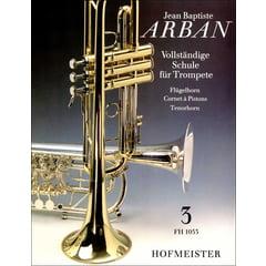 Friedrich Hofmeister Verlag Arban Schule für Trompete 3