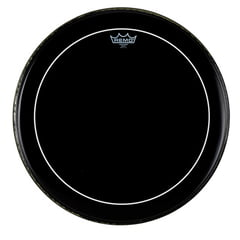 "Remo 20"" Pinstripe Ebony Bass Drum"