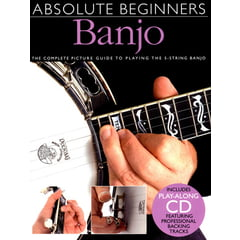 Amsco Publications Absolute Beginners Banjo