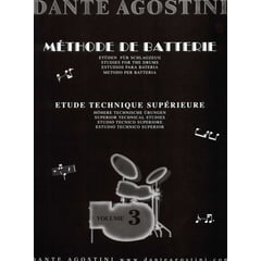 Dante Agostini Méthode De Batterie Vol.3
