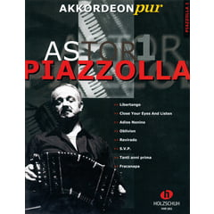 Holzschuh Verlag Akkordeon Pur A.Piazzolla 1