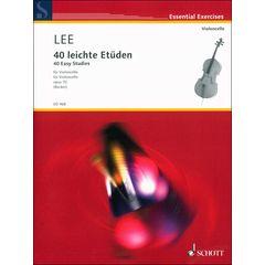 Schott Lee 40 leichte Etüden