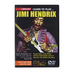 Roadrock International Jimi Hendrix Learn to Play