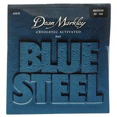 Dean Markley 2676 Blue Steel Bass MED