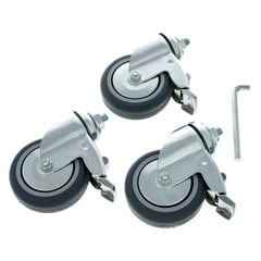 Manfrotto 104 Wheel Set Ø 75 with Brakes
