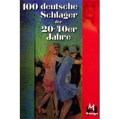 Musikverlag Hildner 140 Deutsche Schlager 20-40er