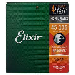 Elixir Nanoweb Extra Long Scale
