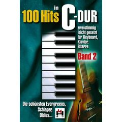 Musikverlag Hildner 100 Hits in C-Dur Vol.2