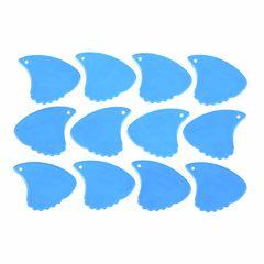 Sharkfin Pick Relief Hard Blue